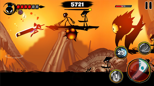 stickman revenge 3 mod apk indir