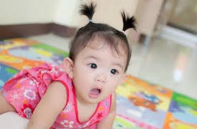 bayi perempuan unik