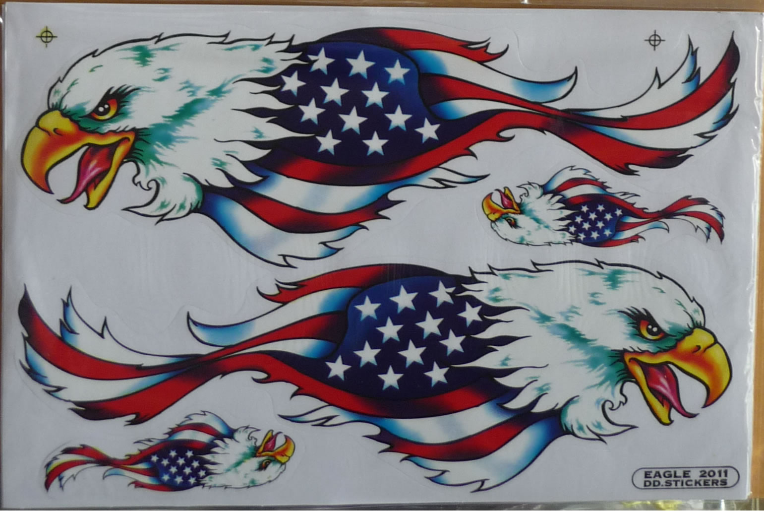 American Flag Eagle Sticker Decal Bumper Stickers Decal