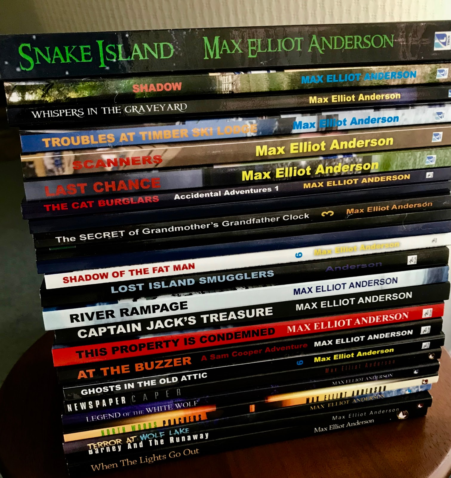 Books for Boys - Children's Adventure & Mystery Author Max