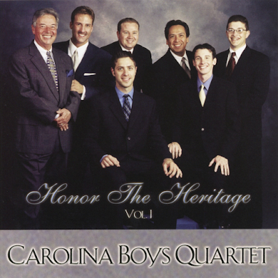 Carolina Boys Quartet-Honor The Heritage-Vol 1-