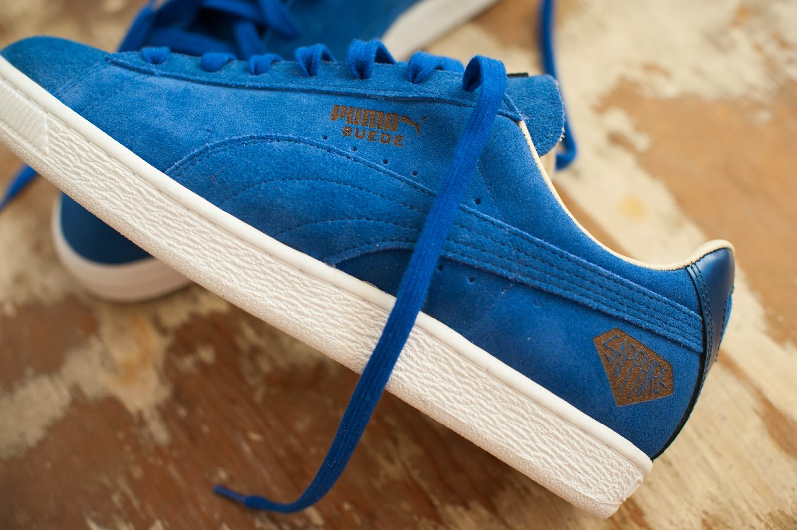 Girl is NOT a 4 Letter Word  Puma Suede XLV Book 9c568ddad