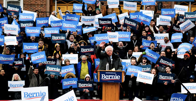 Sanders dares Democrats to stop him – but is he the man to beat Trump?