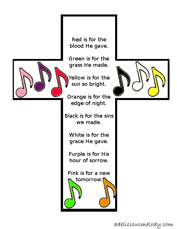 Easter Songs For Kids: A Delicious Melody: Easter Craft, Poem And Song