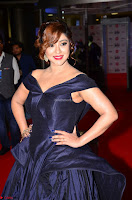 Payal Ghosh aka Harika in Dark Blue Deep Neck Sleeveless Gown at 64th Jio Filmfare Awards South 2017 ~  Exclusive 024.JPG