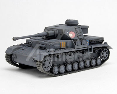 Model Kit Panzer IV Ausf. D (F2 Type) Ankou Tea 1/72 Girls und Panzer