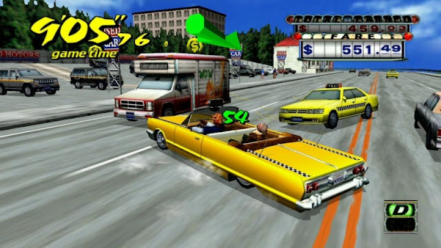 Crazy Taxi Full Setup