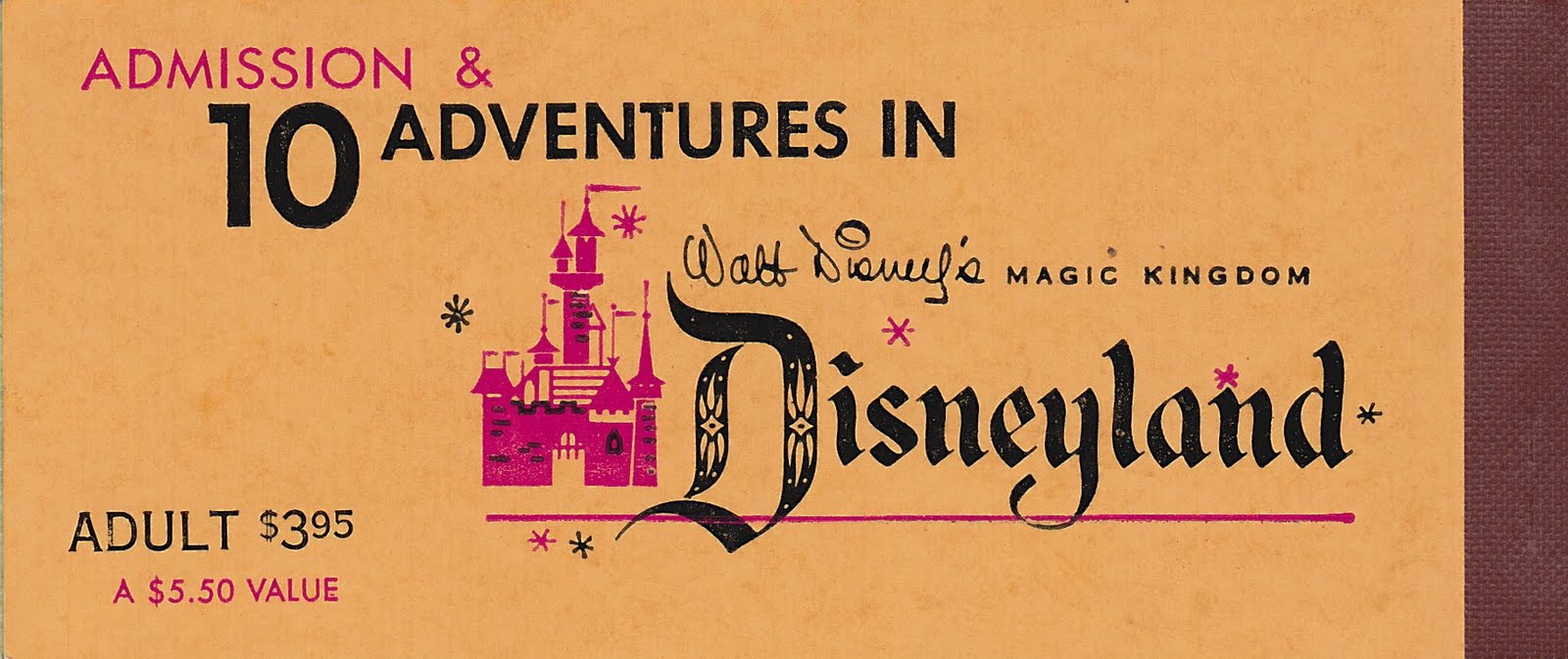 Jim Fannings Tulgey Wood A Ticket Book To Ride For Disneylands Tiket Disneyland Hongkong Open Date Anniversary