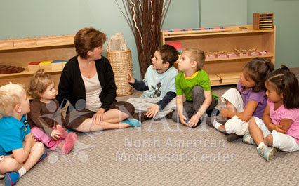 NAMC knowing when to intervene in the montessori environment at circle time