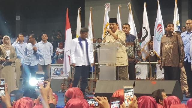 Mengaku Sulit Dapat Pinjaman Bank, Prabowo: Negara Ini Katanya Punya Genderuwo