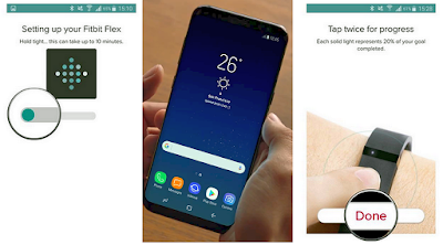 Connect Fitbit to Galaxy S8