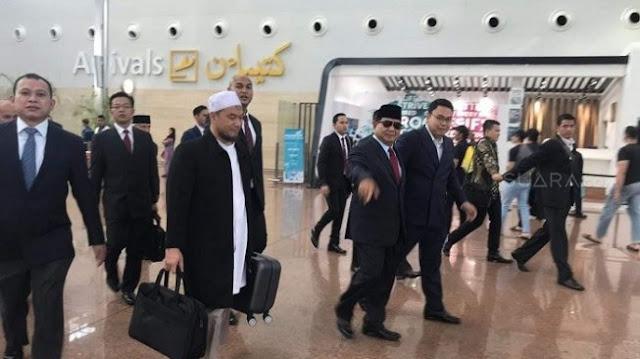 Jubir BPN: Melihat Perkembangan, Prabowo ke Brunei