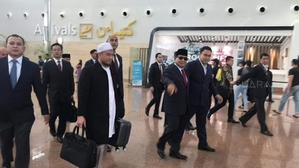 Melihat Perkembangan, Prabowo ke Brunei