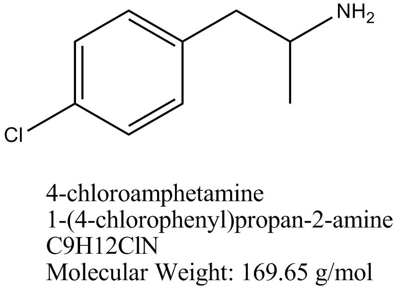 The Dose Makes The Poison: Warning! 4-chloroamphetamine (4-CA) being