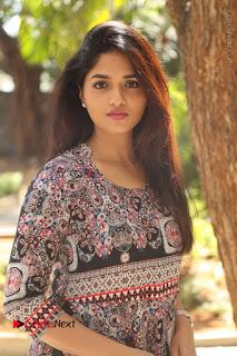 Actress Sunaina Latest Stills in Floral Dress at Pelliki Mundu Prema Katha Trailer Launch  0015.JPG