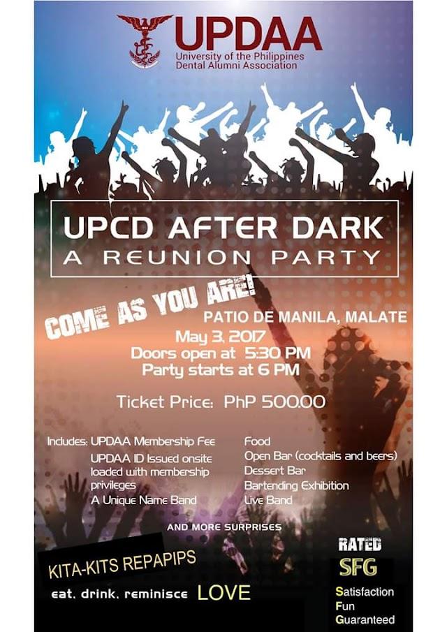 UPDAA: UPCD After Dark Reunion Party