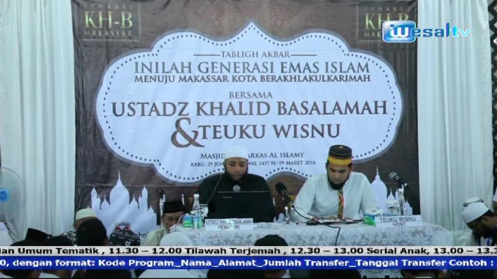 Frekuensi siaran Wesal TV Indonesia di satelit Palapa D Terbaru