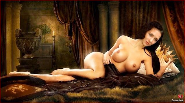 Эротические фотографии Екатерины Климовой