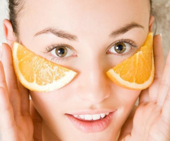 #ماسك قشر البرتقال لتبييض الوجه