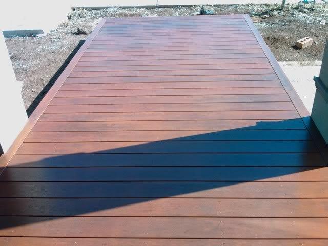 Lantai kayu taman dari kayu merbau gallery parquet for 6 metre lengths of decking
