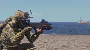 Arma3の英軍武器MODのL85