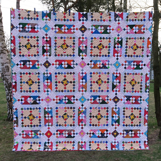 Arapaho Roads Quilt Free Pattern