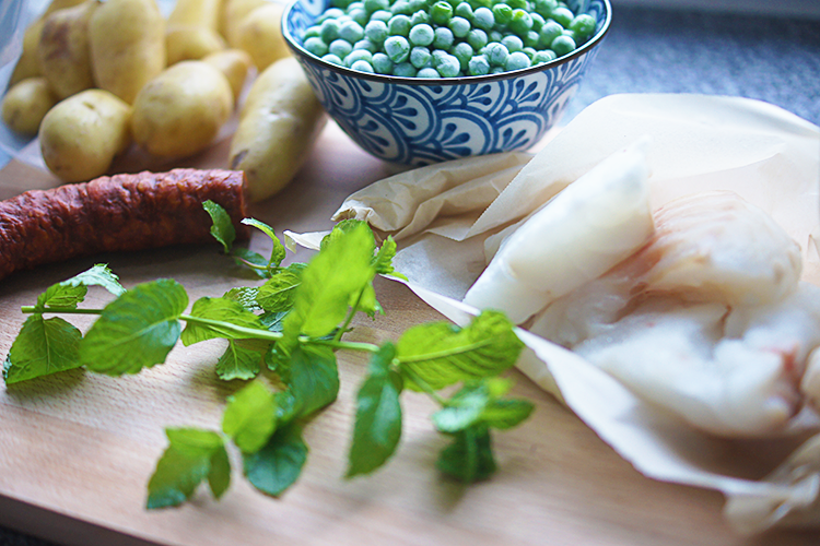 healthy-cod-chorizo-peas-recipe