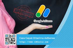 Cara Cepat Diterima Google AdSense Ala Mastimon.com