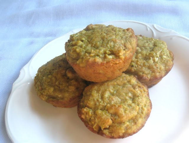 Coconut Chia Muffins with Lemon