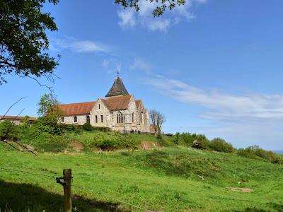 ゴルジュ・デ・ムーティエ Gorge des Moutiers GR21 トレッキング 教会