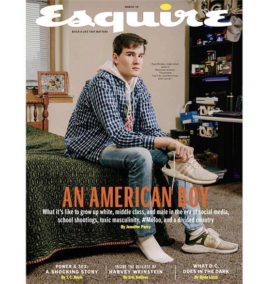 March 2019 Esquire Magazine cover