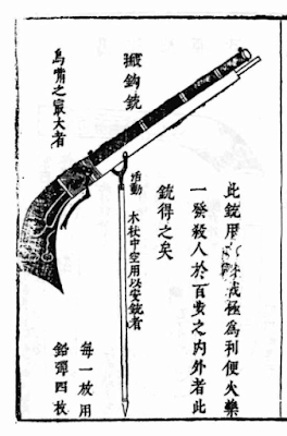 Chinese Heavy Musket