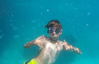 Sivota, Laguna Azul o Blue Lagoon.