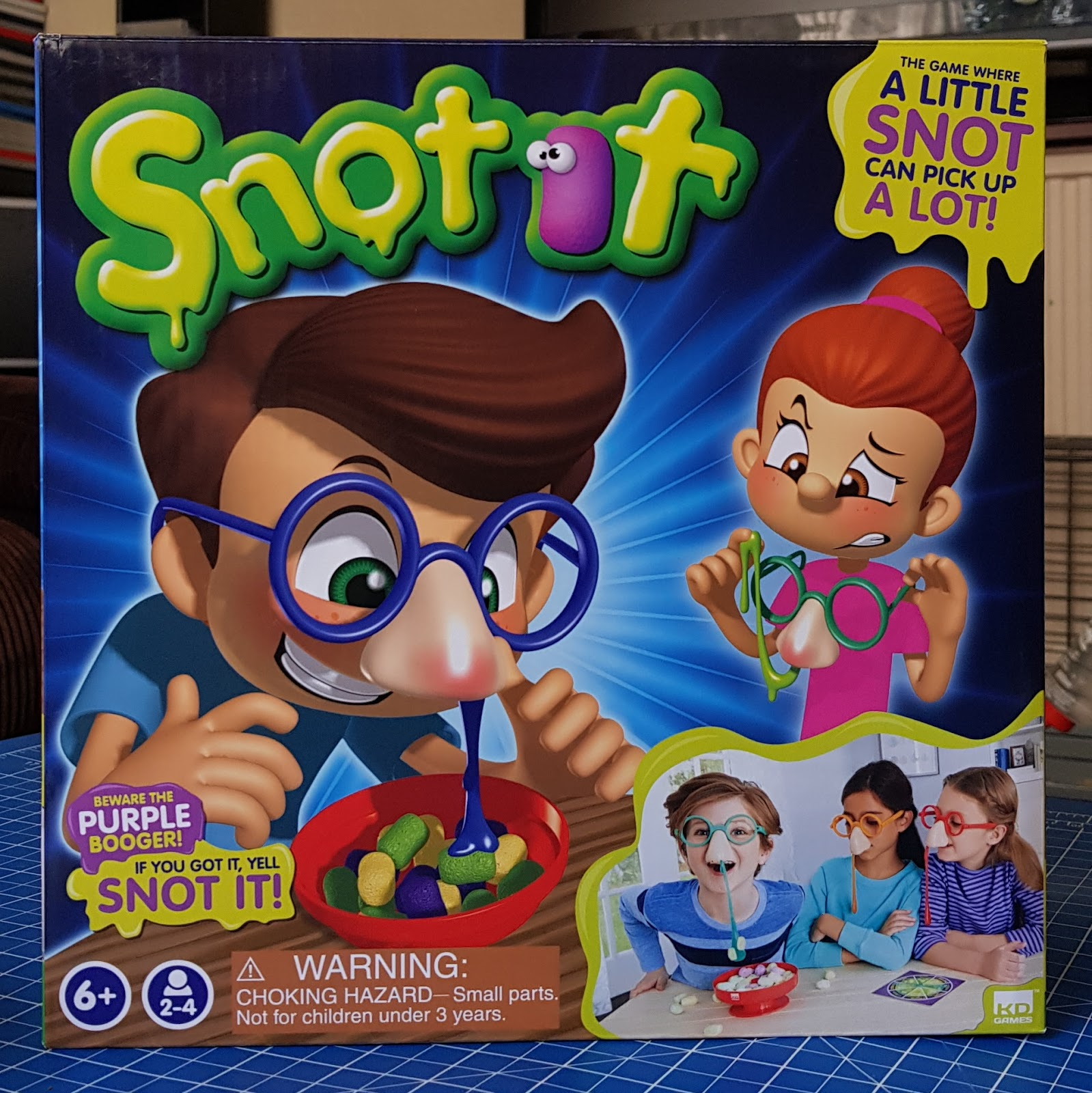 b489d00fe21 The Brick Castle  Snot it! Family Game Review and Christmas Present ...