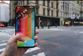 صور رسمية مسربة جديدة تستعرض لنا الهاتف OnePlus 7 مع قطع في الشاشة