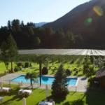 Schwimmbad im Apfelhotel Torgglerhof