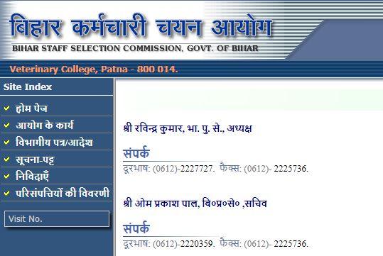 Bihar BSSC Stenographer Online Form 2019
