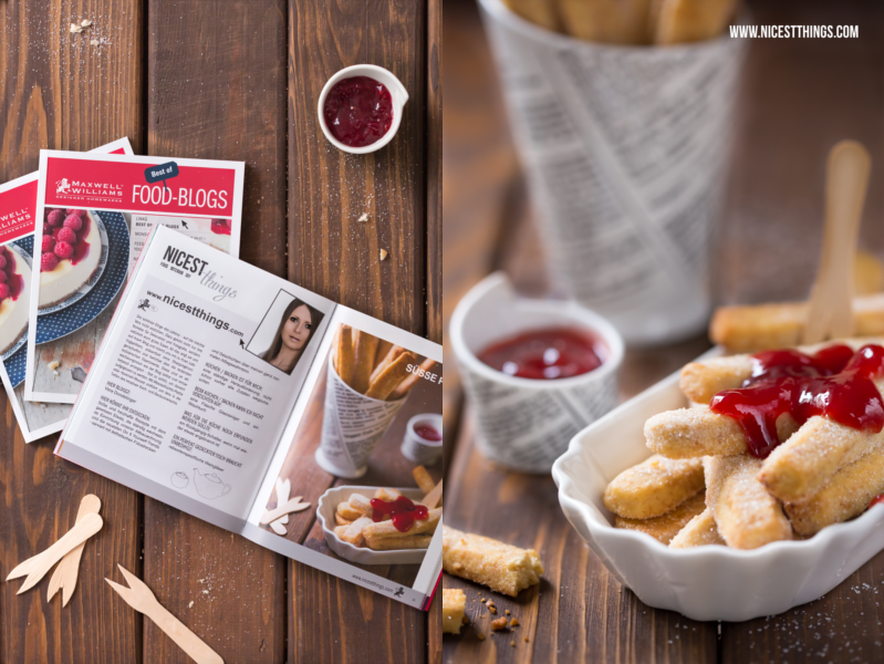 Maxwell Williams Fodblogger Booklet süsse Pommes Pie Fries