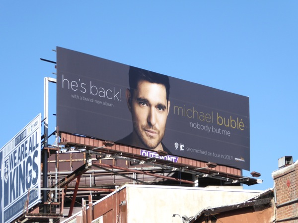 Michael Buble Nobody but me album billboard