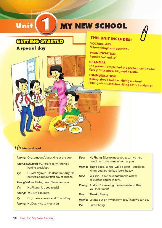Trang 9 sach Sách Giáo Viên Tiếng Anh 6 Tập 1