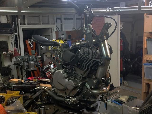 Alan Lapp Dirtbag Challenge Suzuki DR 650