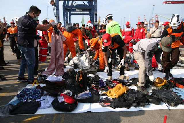 10 Informasi Seputar Tragedi Jatuhnya Pesawat Lion Air JT 610