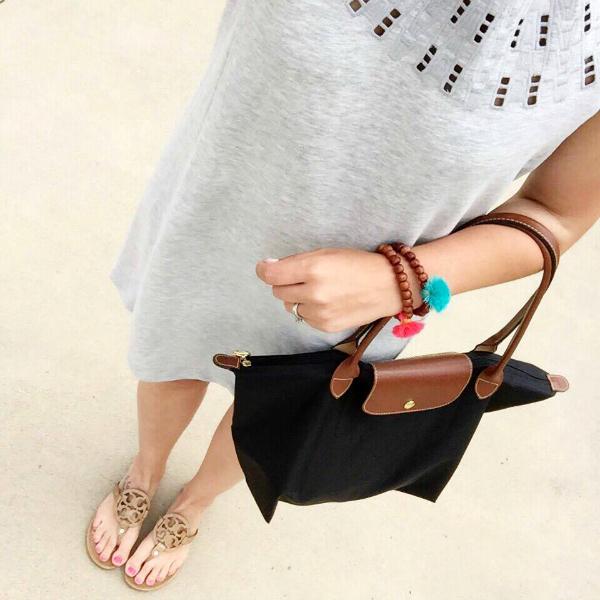 tassel bracelets, longchamp tote