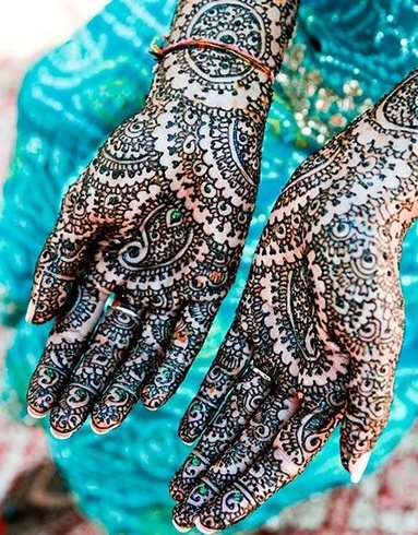 Summer Wedding Henna Mehndi Designs