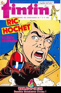 Fascicule Tintin, numéro 18, 1985