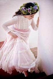 Vestido de comunión para niña