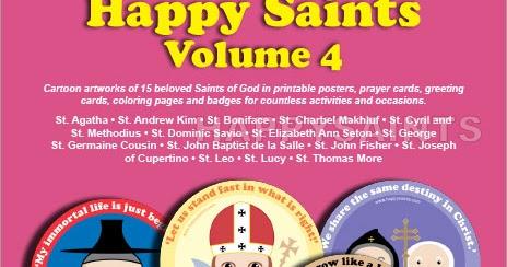 Happy saints happy saints volume 4 for Saint dominic savio coloring page