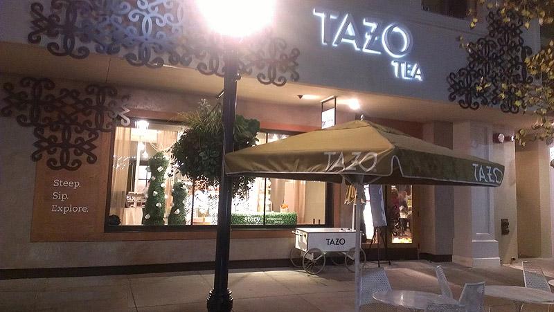 Starbucks Tazo Tea Store