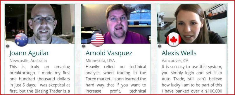 The binary trader fake
