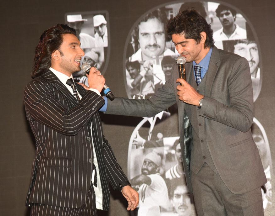 Ranveer Singh at The Launch of Movie 83